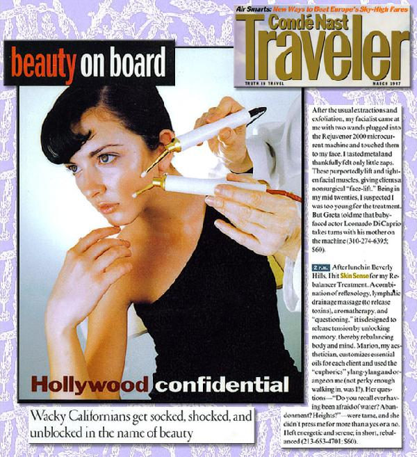 Conde Nast Traveller: Beauty on Board