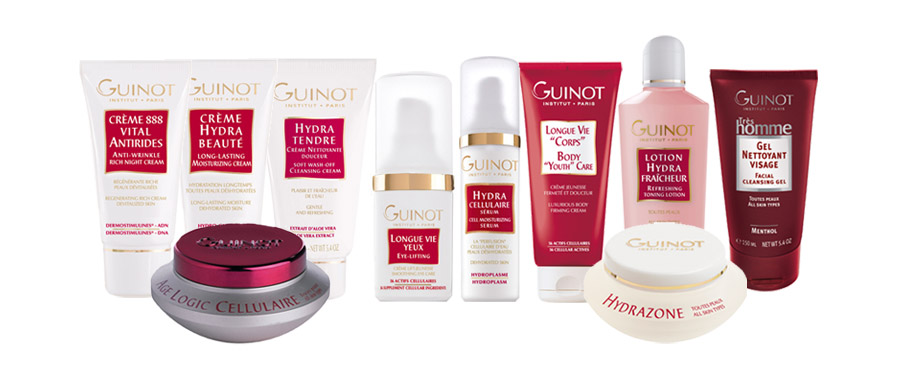 guinot skin care products la